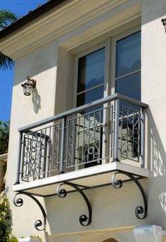barres grises balcon