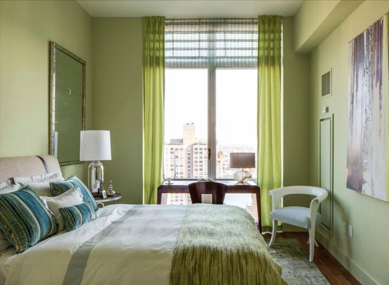 """green-room """"width ="""" 800 """"height ="""" 586 """"srcset ="""" https://housekeeping.tn/wp-content/uploads/2019/11/1573259227_422_12-meilleures-idees-de-peinture-de-chambre-a-coucher.jpg 800w, https://freshome.com/ wp-content / uploads / 2015/06 / green-room-300x220.jpg 300w, https://freshome.com/wp-content/uploads/2015/06/green-room-539x395.jpg 539w """"tailles ="""" ( largeur max: 800px) 100vw, 800px """"/> </div> </div> <p>Utiliser la chromothérapie dans votre chambre à coucher est aussi simple que de peindre les murs. Si vous envisagez des couleurs vives et que vous souhaitez vous familiariser avec les choses, commencez petit. Peignez un seul mur, ajoutez des rayures ou utilisez la couleur choisie comme couleur d'accent. Partagez avec nous, quelle couleur de personnalité avez-vous choisi?</p> </p></div> <p><i>N'oubliez pas de partager l'article sur Facebook et Instagram 💖</i></p>  <div class="""