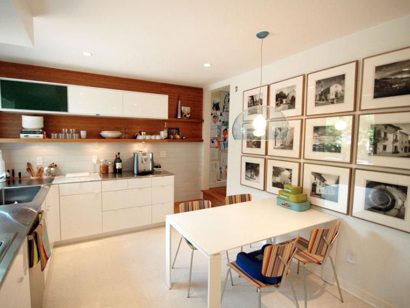 créer un mur de galerie de cuisine