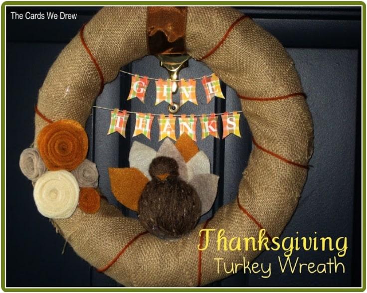 Couronne de dinde de Thanksgiving