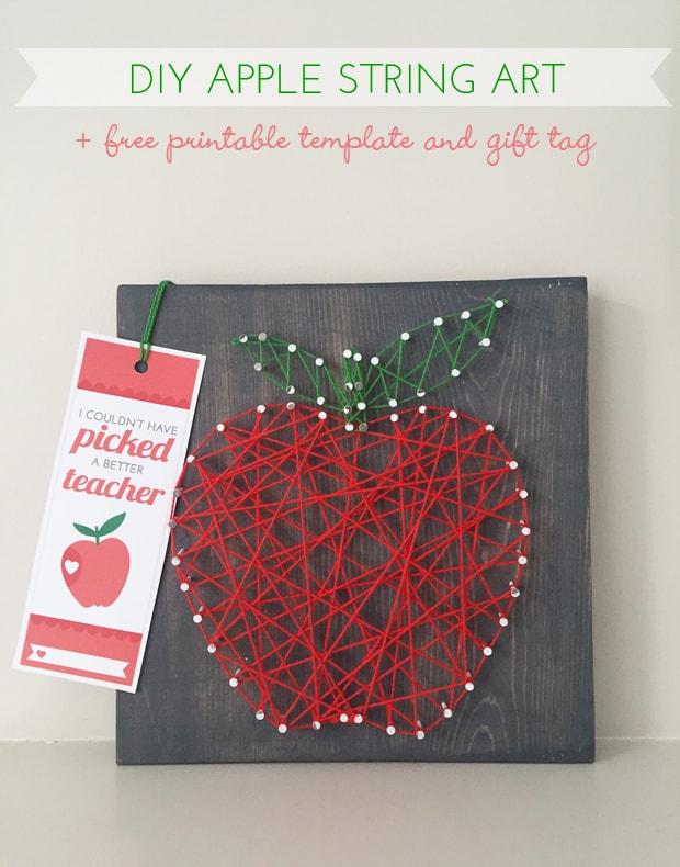 Art de la corde bricolage pomme