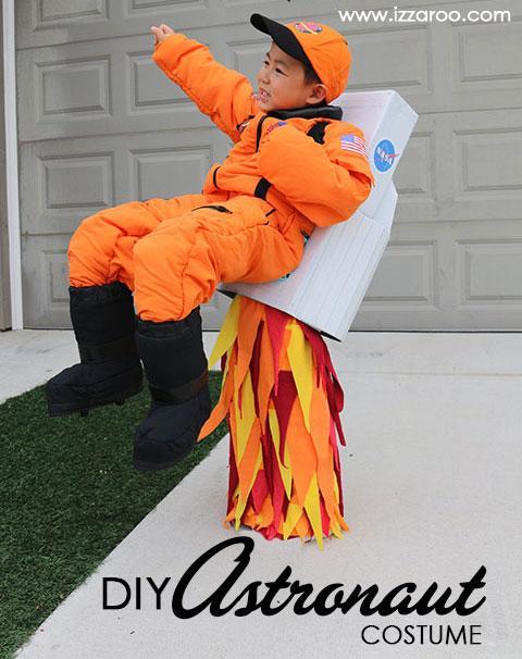 Costume d'astronaute de bricolage