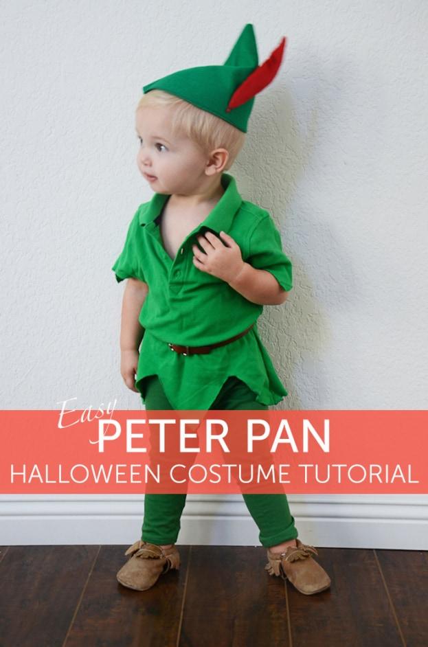 Costume de peter pan facile
