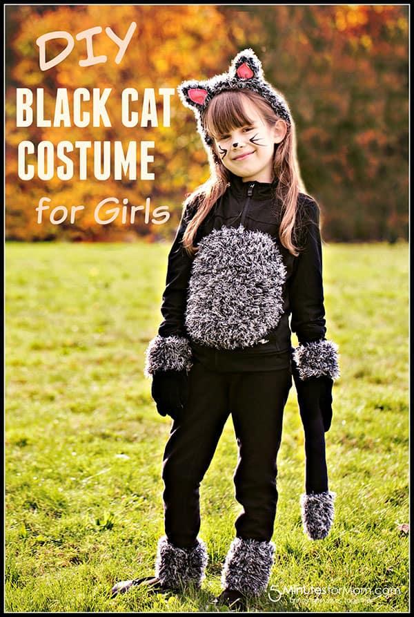 Costume de chat noir bricolage