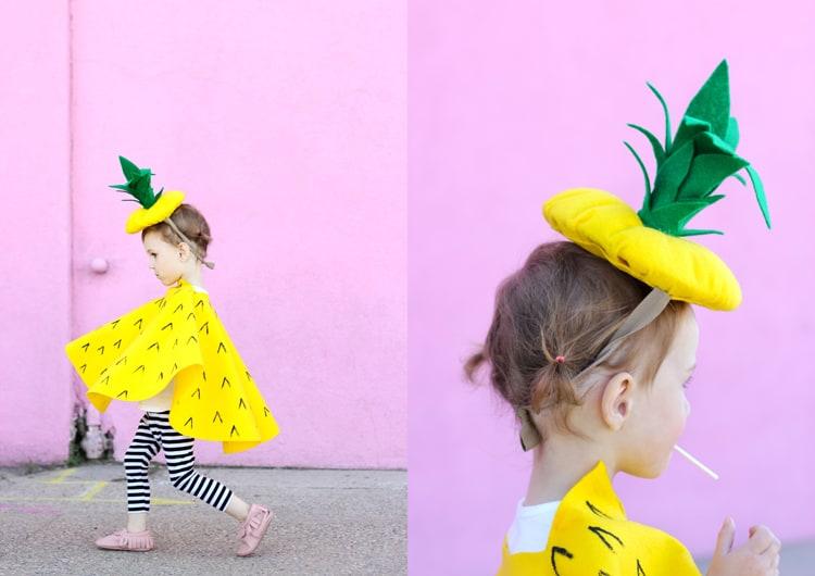 Nouveau costume à coudre d'ananas