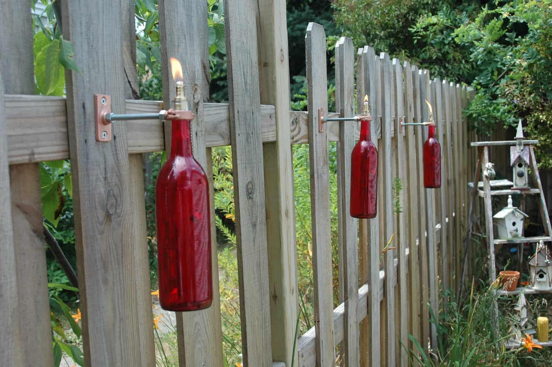 Bricolage tiki torches