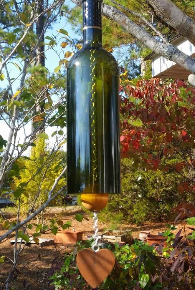 Bouteille de vin carillon