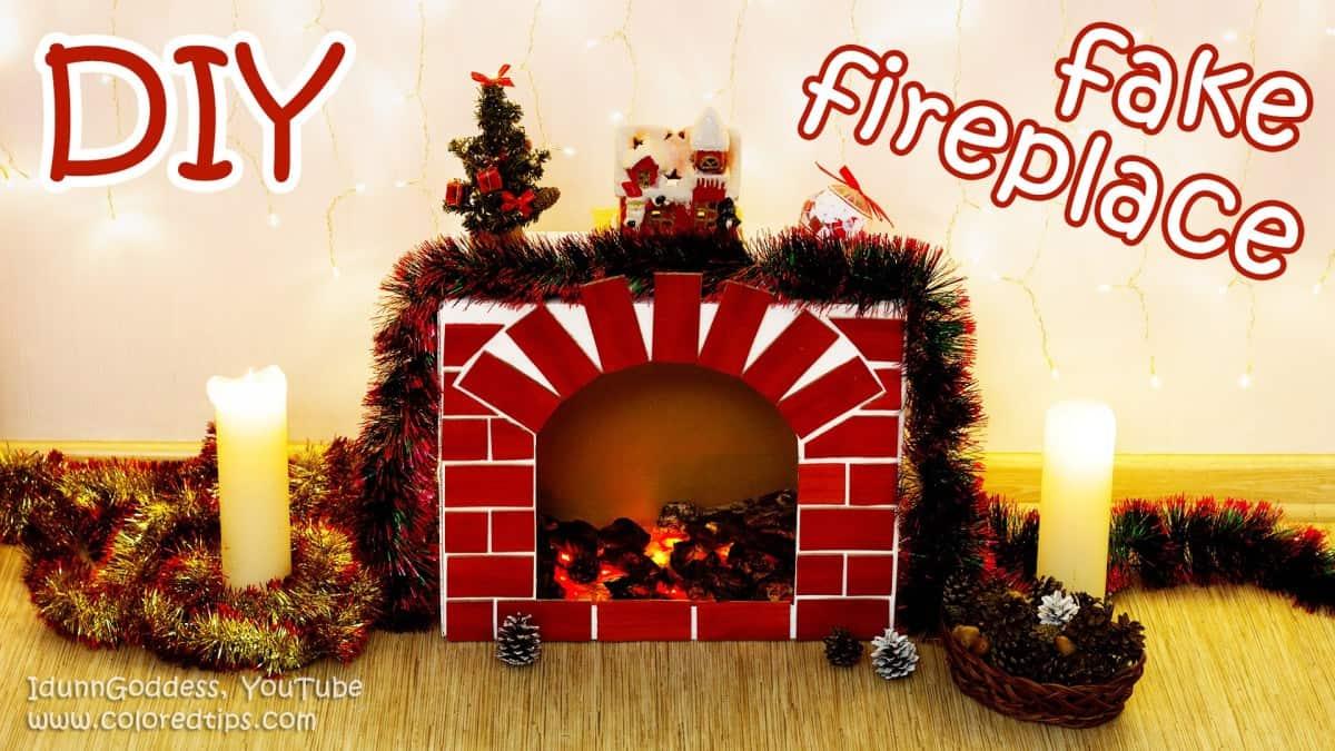 """Foyer et manteau de Noël douillet """"width ="""" 1200 """"height ="""" 675 """"srcset ="""" https://cdn.diys.com/wp-content/uploads/2019/10/Cozy-faux-Christmas-fireplace-and- mantel.jpg 1200w, https://cdn.diys.com/wp-content/uploads/2019/10/Cozy-faux-Christmas-fireplace-and-mantel-300x169.jpg 300w, https: //cdn.diys. com / wp-content / uploads / 2019/10 / Cosy-faux-Noël-cheminée-et-manteau-768x432.jpg 768w, https://cdn.diys.com/wp-content/uploads/2019/10/Cozy cheminée-et-manteau-de-Noël-1024x576.jpg 1024w """"tailles ="""" (largeur-max: 1200px) 100vw, 1200px"""