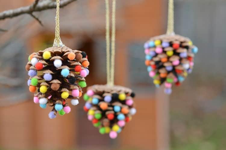 Pm Pinecone Ornamente de Craciun