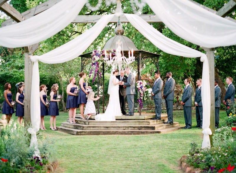 Jardin de mariage Elmwood
