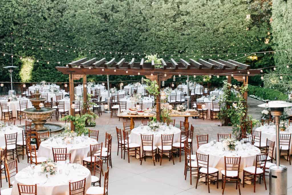 Lieu de mariage de jardin franscican