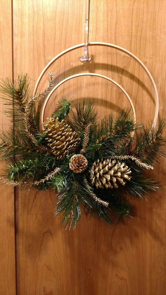 Décorations de Noël avec guirlande de Noël