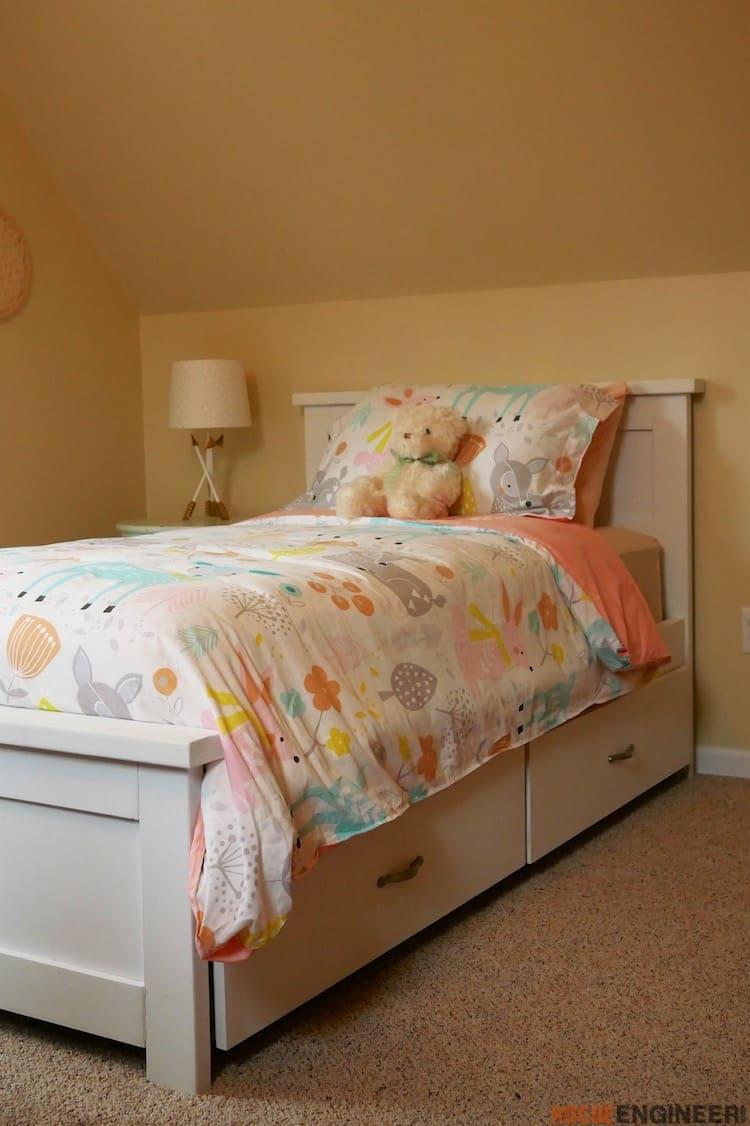 Lit Avec Rangement En Dessous comment faire des lits avec rangement - housekeeping