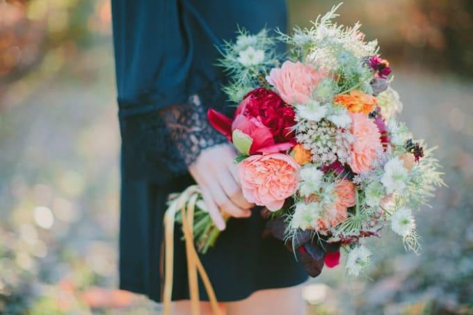 Bouquet de mariage bricolage