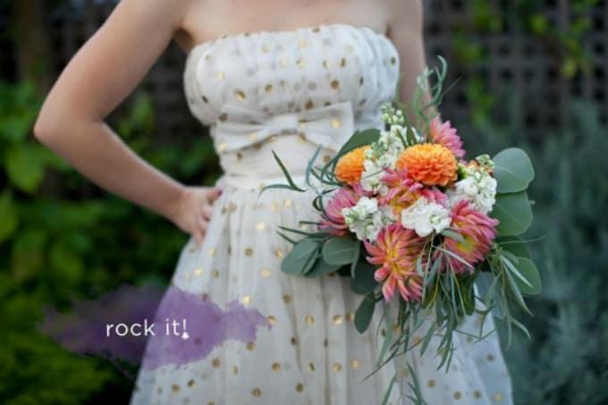 Bouquet de mariage d'inspiration rustique bricolage