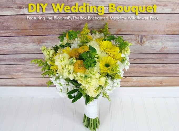 Bouquet de mariage bricolage inspiré par Meadow