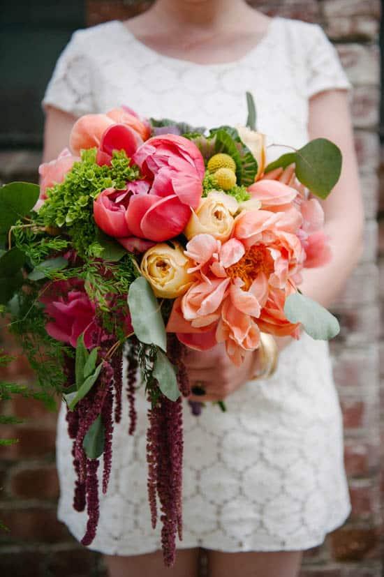 Un mariage pratique surdimensionné bouquet coloré bricolage 8088