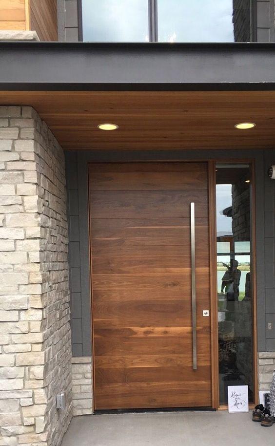 Portes en bois de styles différents 2019