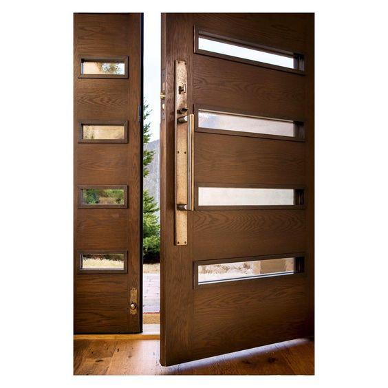 Modèles de portes en bois pour intérieurs