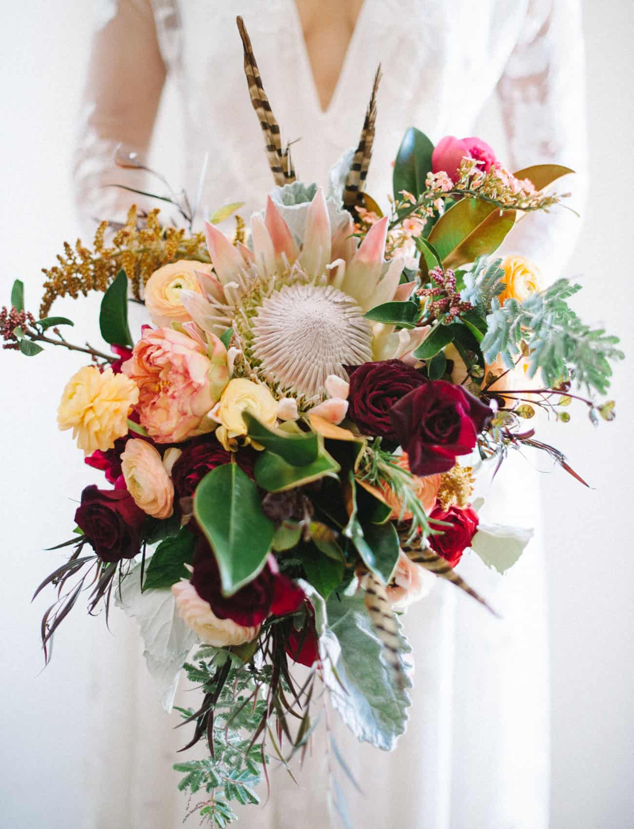 Protea bouquet bricolage