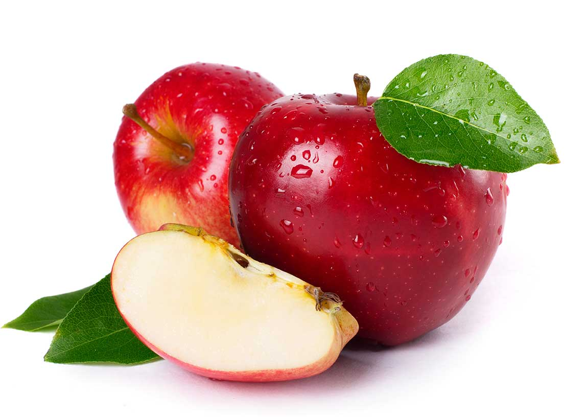 Arbre de Noël aux pommes