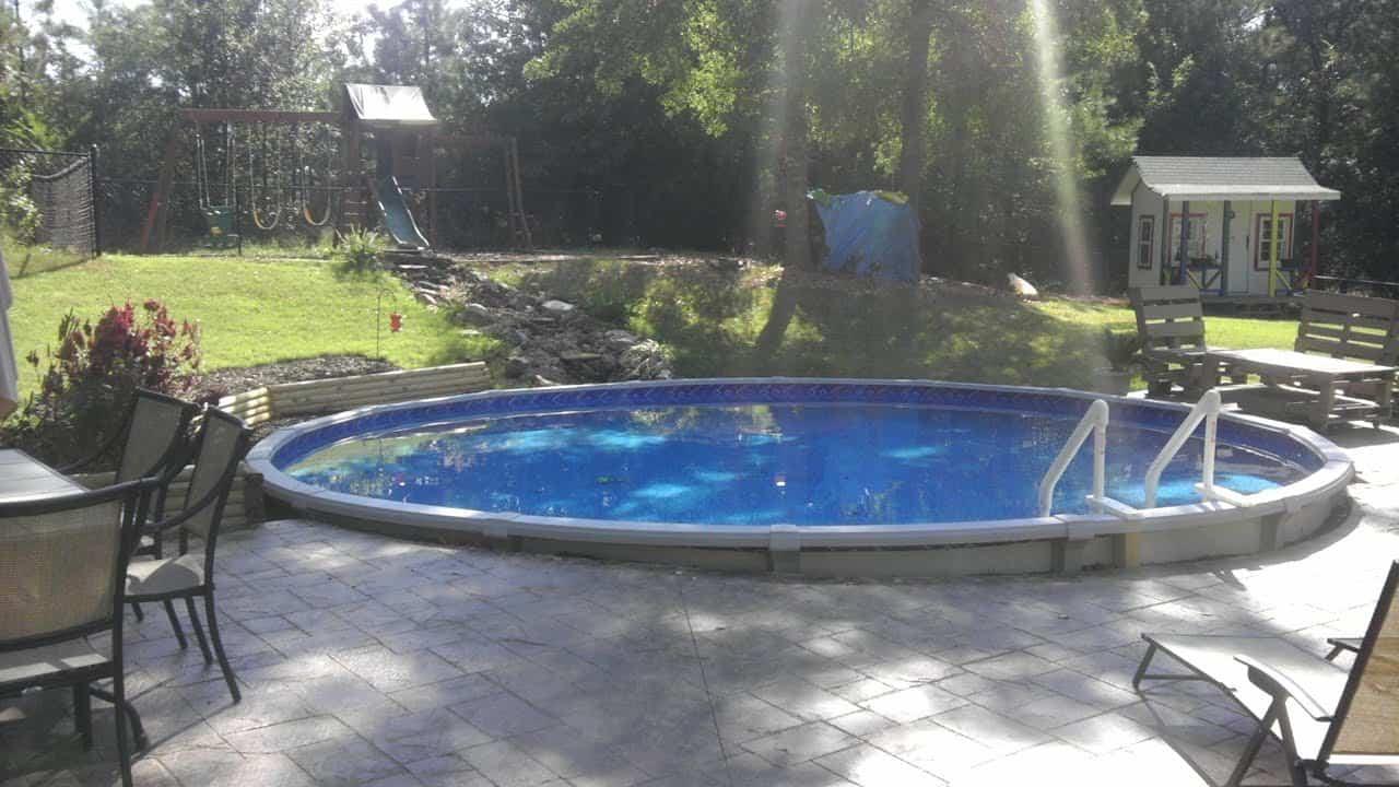 Piscine Hors Sol Avec Toboggan comment installer vos propres piscines creusées et hors sol