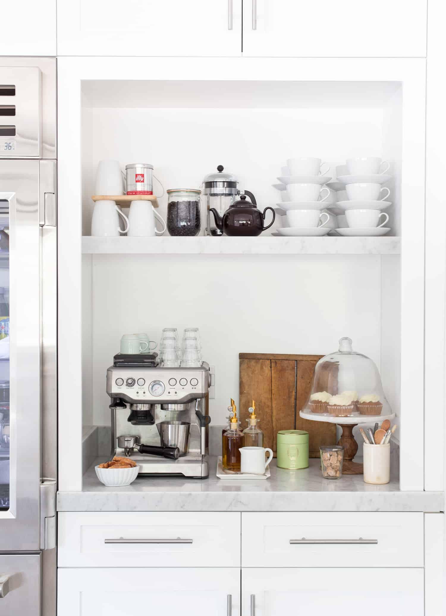 Station de café simple
