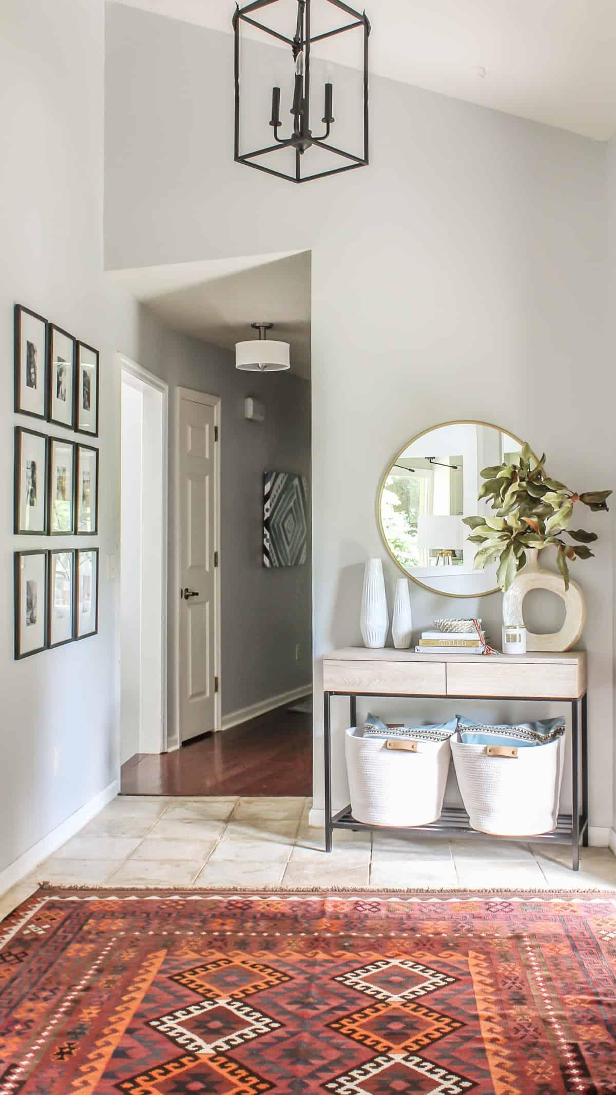 Boho décor moderne du foyer