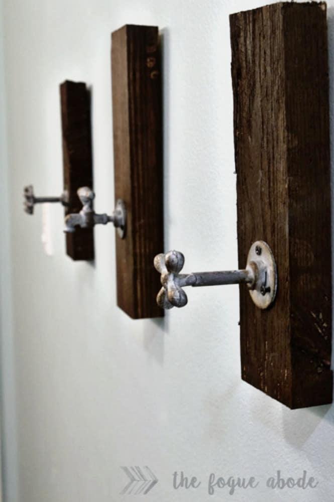 Porte-serviettes industriel bricolage