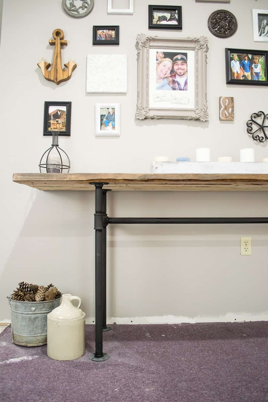 Table industrielle bricolage