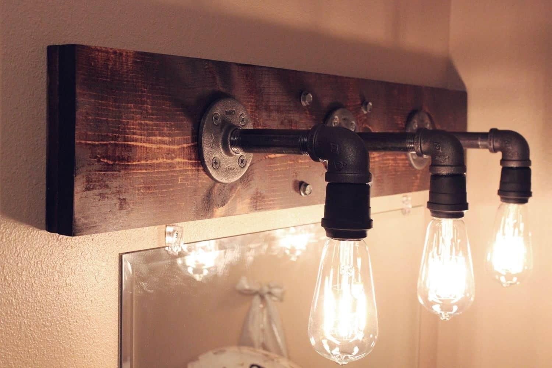 Luminaires industriels bricolage