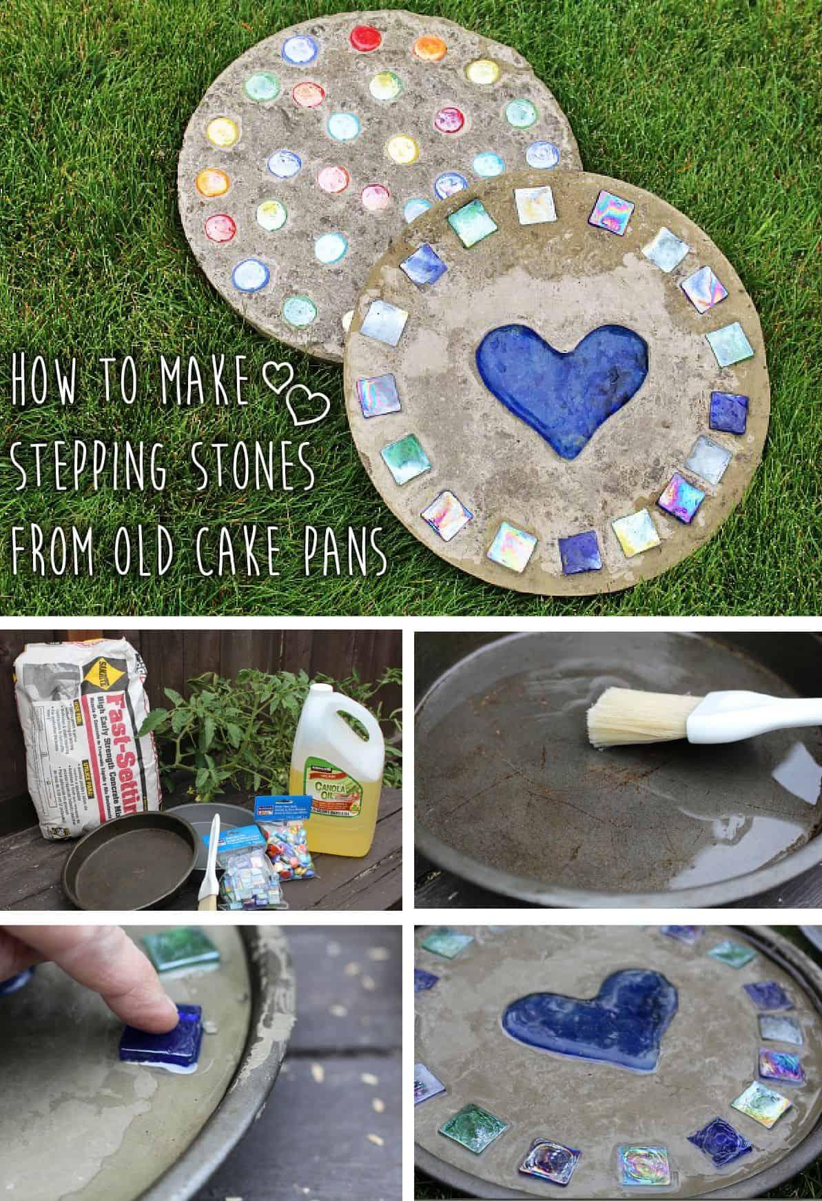 Comment faire des tremplins à partir de vieux moules à gâteaux