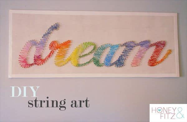 Rainbow Dream String Art
