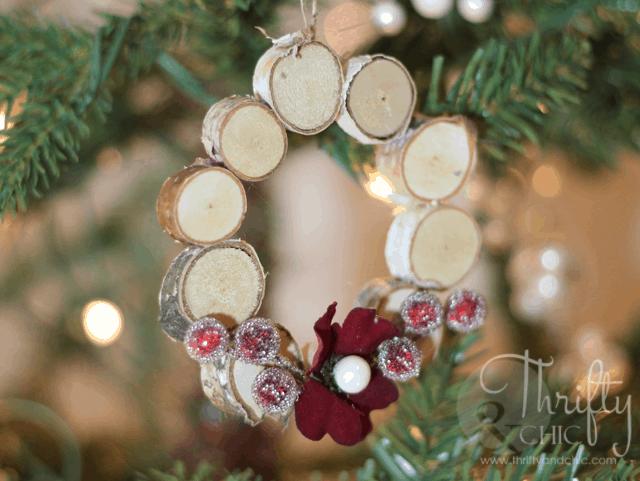 Mini ornamenti ghirlanda della foresta
