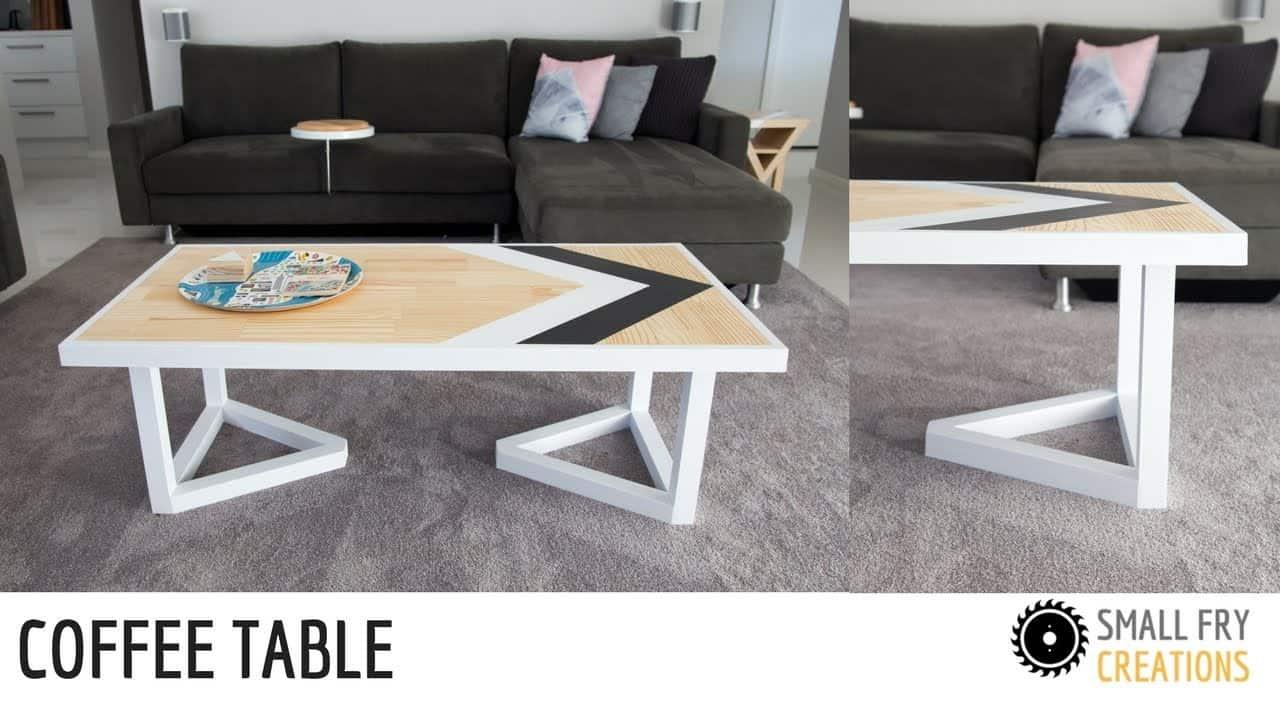 Table basse d'inspiration scandinave