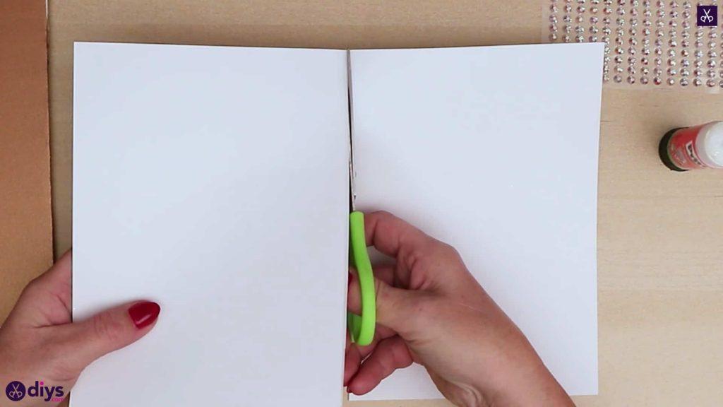 Papier de coupe bricolage arbre de noël