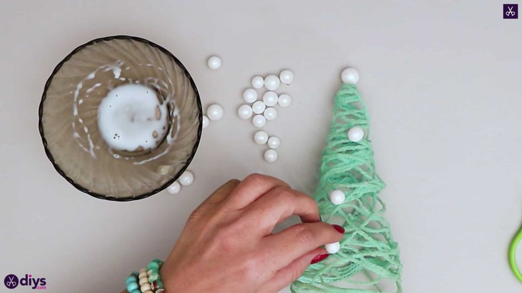 Arbre de Noël ficelle pour enfants