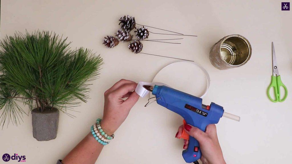 Ruban de décoration de table sapin de noel