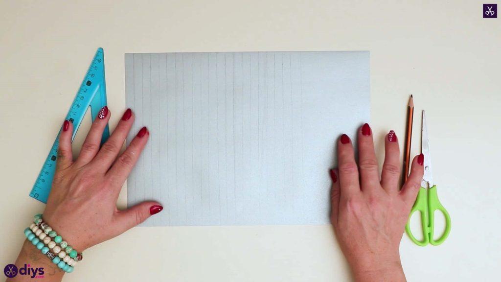 Papier ornement étoiles tracer des lignes