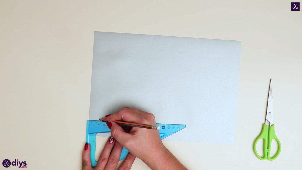 Fond d'ornement étoile en papier