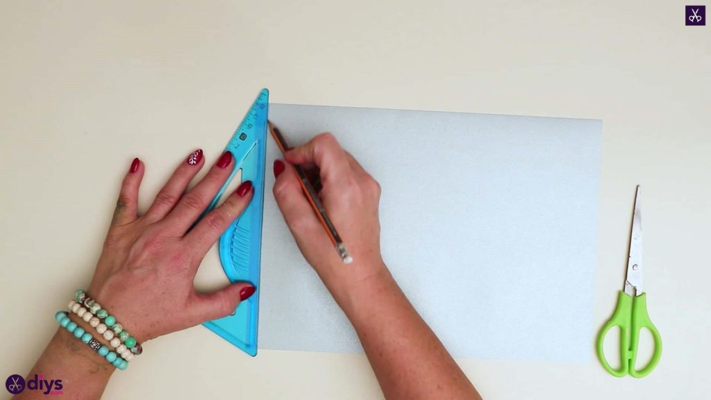 Etoile en papier ornement étape 3
