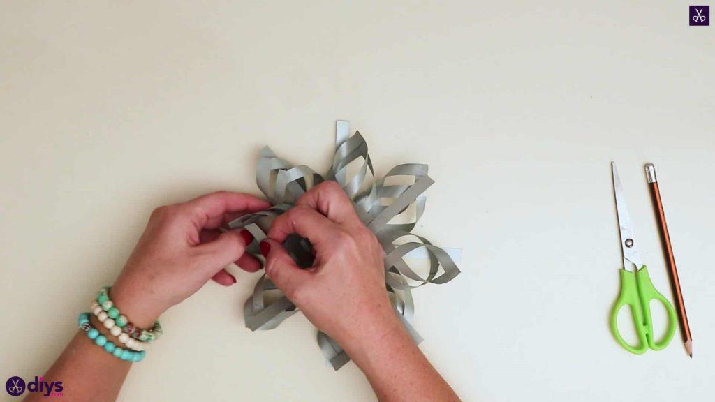 Étoile de papier ornement bricolage