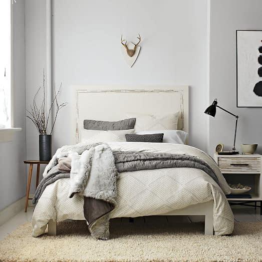 Chambre tapis shag