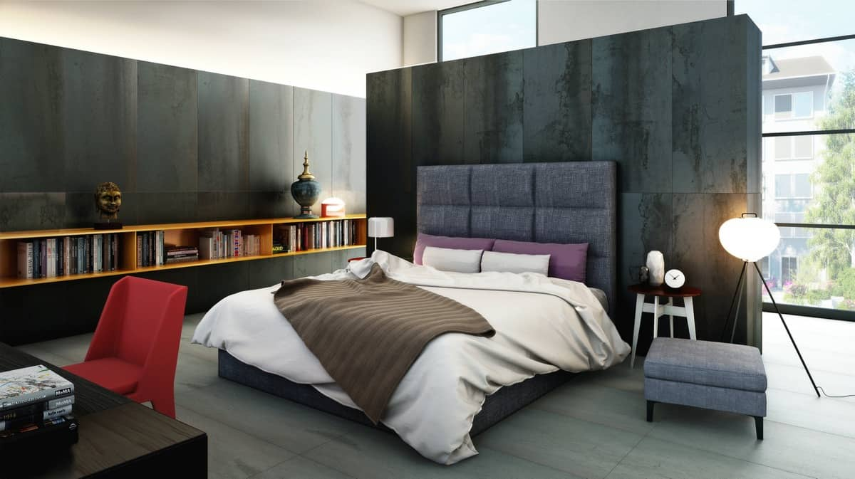 Chambre texturée mixte