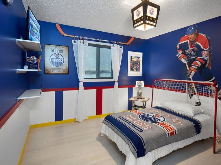 tête de lit de hockey