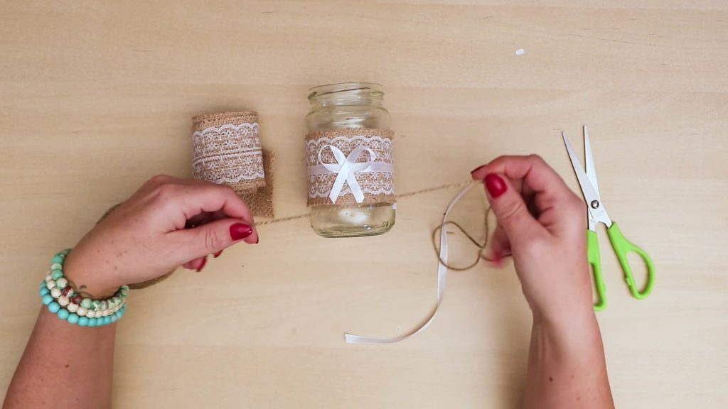 Bricolage Vintage Mason Jar Craft String