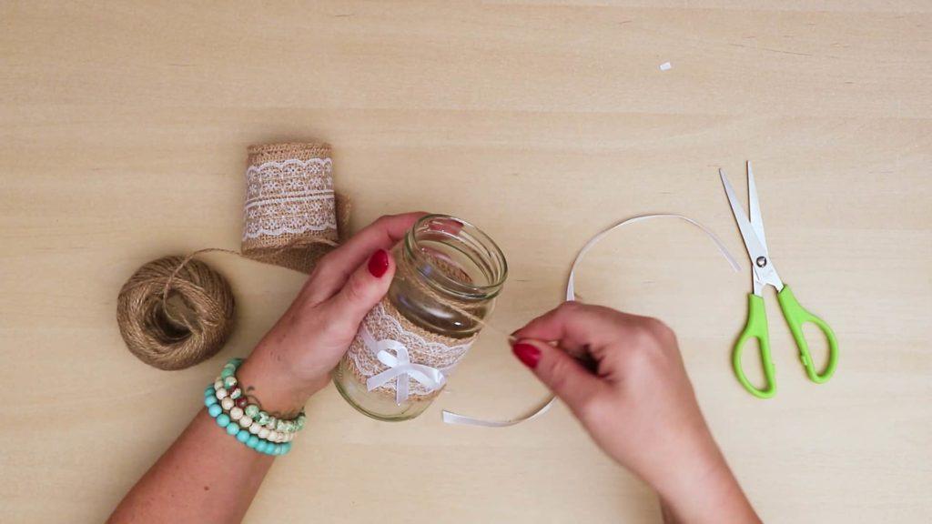 Bricolage Vintage Mason Jar Craft Top String