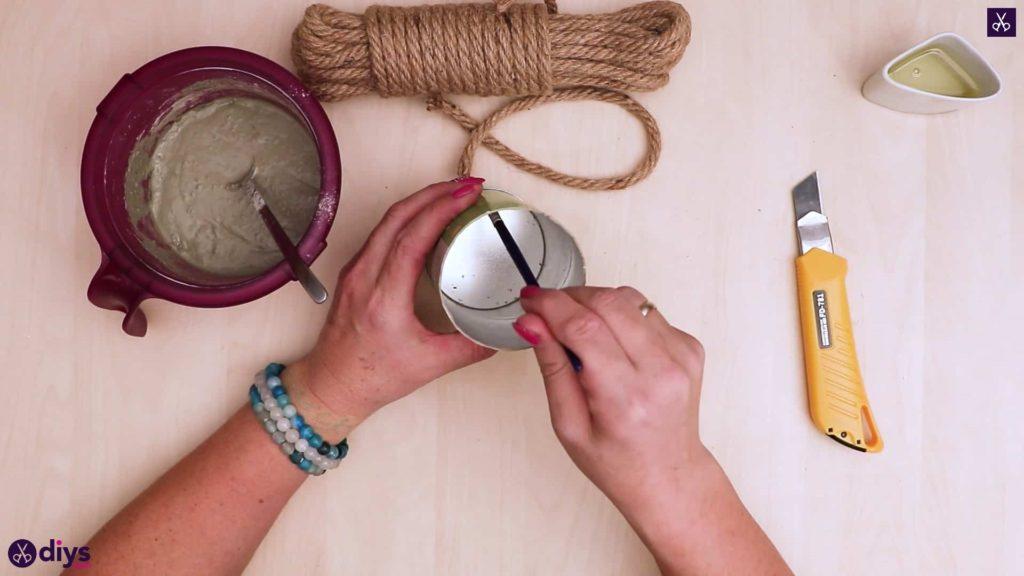 Butoir de porte en béton bricolage étape 5