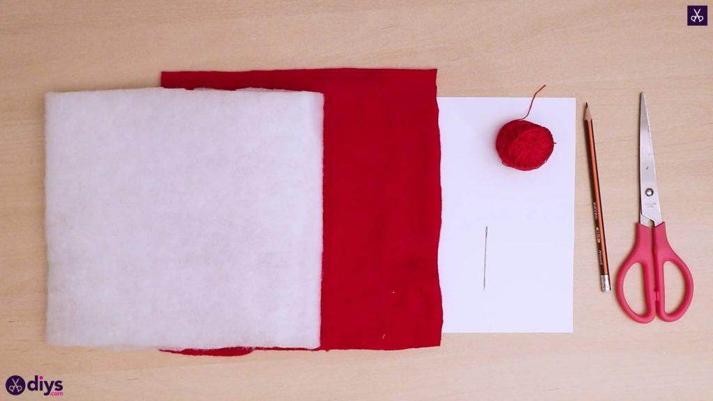 Comment faire un matériau d'oreiller coeur