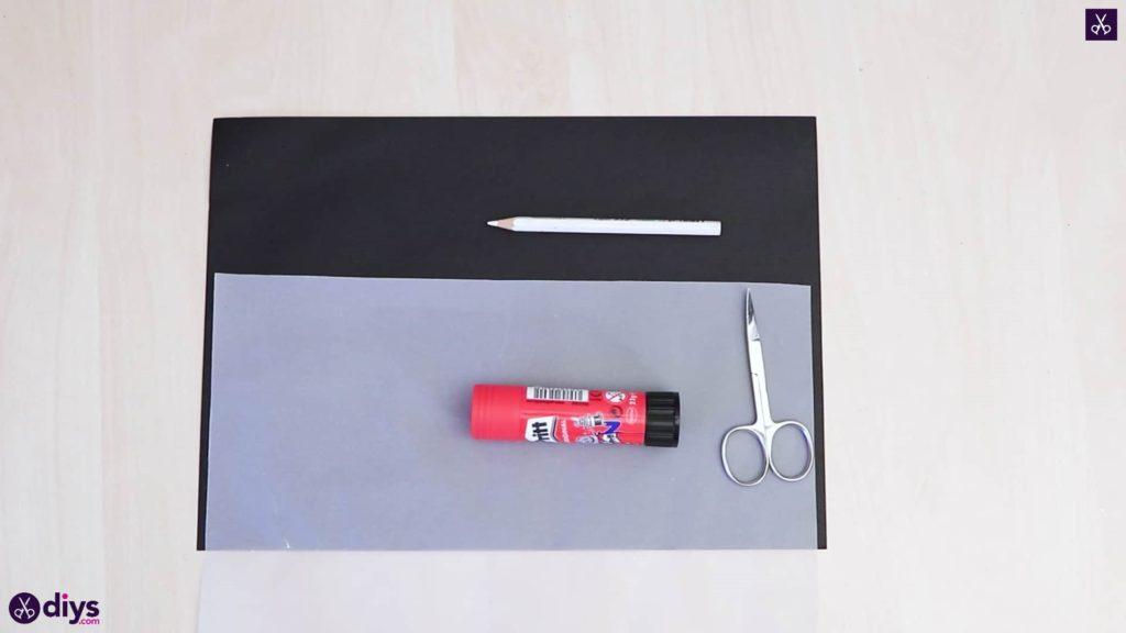 Matériaux d'art de lanterne en papier bricolage